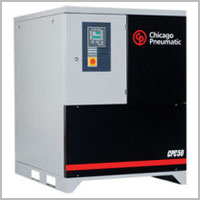Air Compressors, Rotary Screw Air Compressors, Chicago Pneumatic, Almig, Oilless Air Compressors, Gas Air Compressors, Portable Diesel Air Compressors, Reciprocating Air Compressors