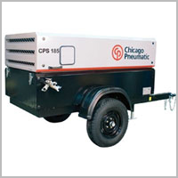 Portable Diesel Air Compressors by Chicago Pneumatic